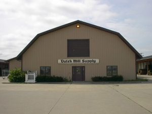 front of Dutch Mill